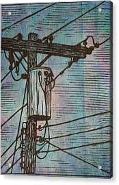 Transformer Acrylic Print by William Cauthern