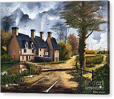 Travellers Rest Acrylic Print