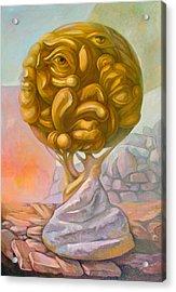 Tree Of Knowledge Acrylic Print by Filip Mihail