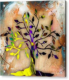 Tree Of Life Painting Acrylic Print by Marvin Blaine
