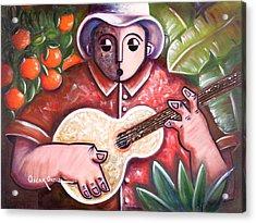 Trovando En Las Marias Acrylic Print