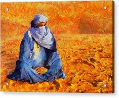 Tuareg 2 Acrylic Print by George Rossidis