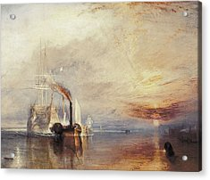 Turner, Joseph Mallord William Acrylic Print by Everett