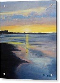 Tybee Island July Sunset Acrylic Print