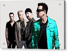 U2 Acrylic Print