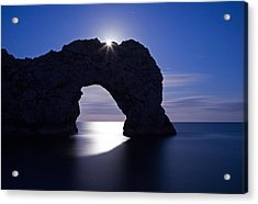 Under The Moonlight Acrylic Print by Ian Middleton