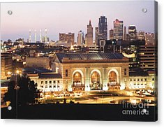 Union Station Evening Acrylic Print