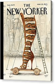New Yorker March 25th, 2013 Acrylic Print
