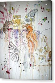 Untitled Acrylic Print by Cynthia Hilliard