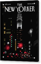 New Yorker November 16th, 2009 Acrylic Print