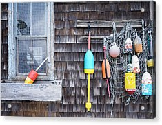 Usa, Massachusetts, Cape Ann, Rockport Acrylic Print by Walter Bibikow