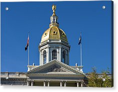 Usa, New Hampshire, Concord, New Acrylic Print by Walter Bibikow