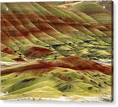 Usa, Oregon, John Day Fossil Beds Acrylic Print by Jaynes Gallery