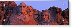 Usa, South Dakota, Mount Rushmore Acrylic Print by Panoramic Images
