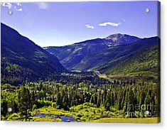 Vail Valley View Acrylic Print