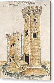 Valturio, Roberto 1405-1475. De Re Acrylic Print by Everett
