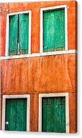 Venetian Houses Acrylic Print
