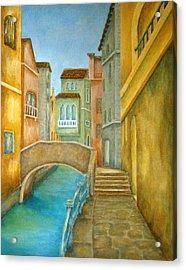 Venezia Acrylic Print by Pamela Allegretto