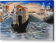 Venice Passing By Acrylic Print