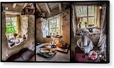 Victorian Cottage Acrylic Print by Adrian Evans