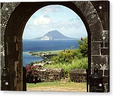 View From Brimstone Hill Fortress Acrylic Print by Ellen Henneke