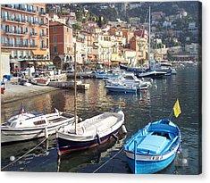 Villefranche-sur-mer    Acrylic Print by David Nichols