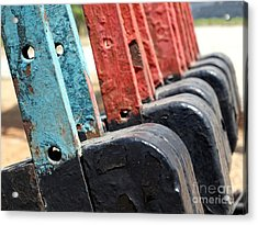 Vintage Railroad Switches Acrylic Print
