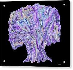 Acrylic Print featuring the digital art Vision Tree by Aliceann Carlton