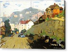 Vladivostok Vintage Prints Acrylic Print by Jake Hartz