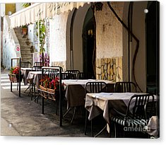 Acrylic Print featuring the photograph Waiting For Company by Mike Ste Marie
