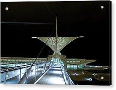 Acrylic Print featuring the photograph Walk This Way by Chuck De La Rosa