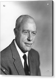 Walter Brattain, Us Physicist Acrylic Print by Science Photo Library