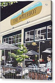 Waterboy Acrylic Print by Paul Guyer