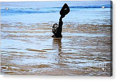 Acrylic Print featuring the photograph Waters Up by Kelly Awad