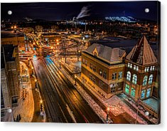 Wausau After Dark Acrylic Print