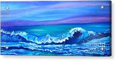 Wave Acrylic Print by Jenny Lee