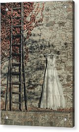 Wedding Dress Acrylic Print by Joana Kruse