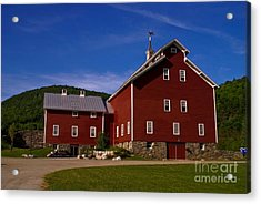 West Monitor Barn. Acrylic Print