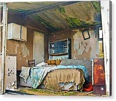 Where Do They Sleep Now Acrylic Print by Tony Reddington