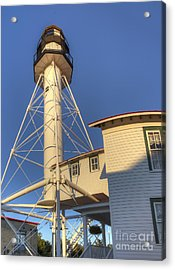 Whitefish Point Lighthouse Acrylic Print by Twenty Two North Photography