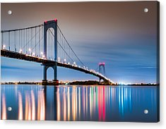Whitestone Bridge Acrylic Print
