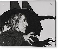 Wicked Witch Of The West Acrylic Print by Fred Larucci