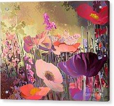 Wild Garden Acrylic Print