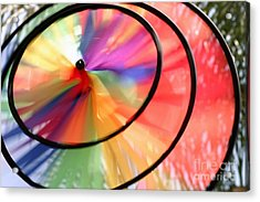 Acrylic Print featuring the photograph Wind Wheel by Henrik Lehnerer