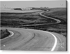 Winding Road Acrylic Print by Sue Smith