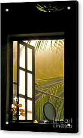 Window To The Soul Acrylic Print by Amy Fearn