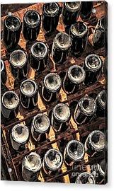 Wine Bottles Acrylic Print by Elena Elisseeva