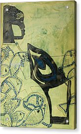 Wise Virgin Acrylic Print by Gloria Ssali