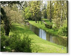 Woerlitzer Park Acrylic Print by Olaf Christian