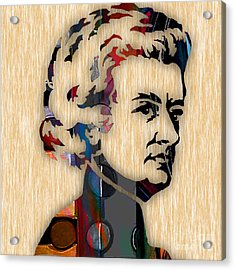 Wolfgang Amadeus Mozart Collection Acrylic Print by Marvin Blaine